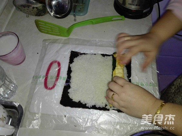 家常紫菜包饭怎么吃