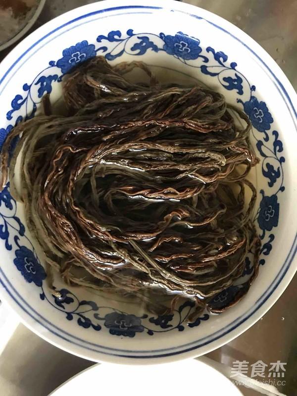 小Y家—红烧肉炖干豆角怎么吃