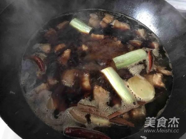 小Y家—红烧肉炖干豆角怎样煸