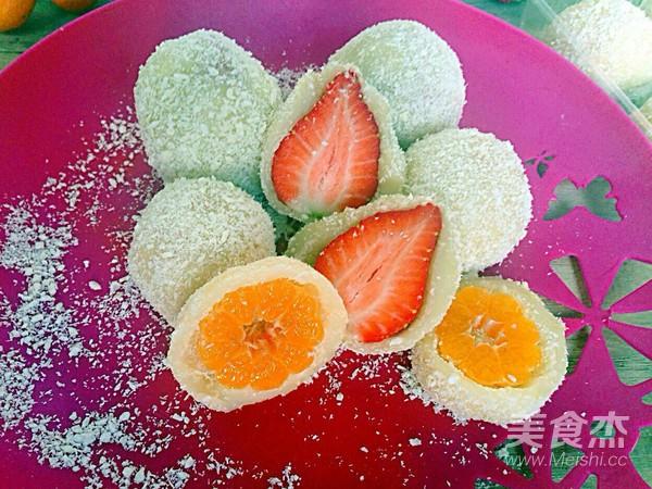 水果糯米滋怎样做