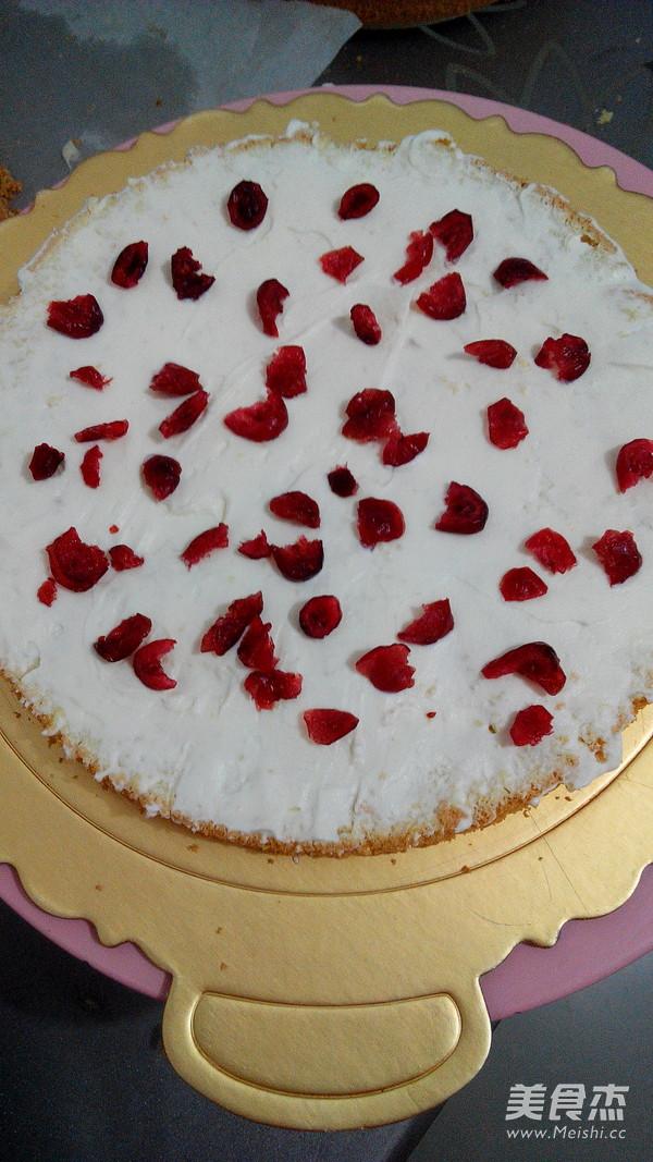水果生日蛋糕的家常做法