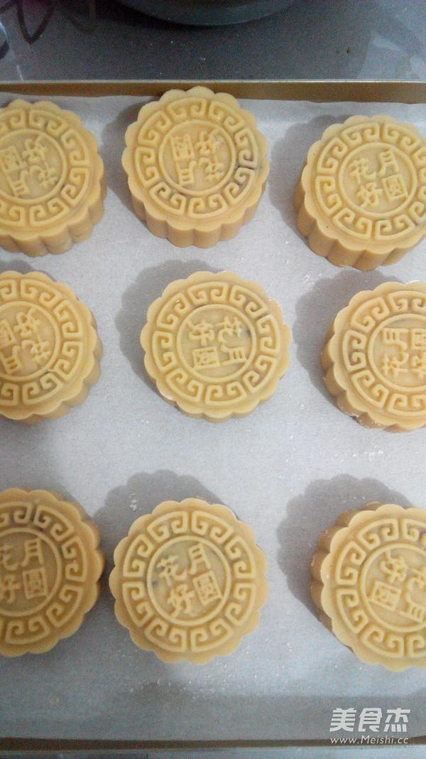 广式传统五仁月饼怎样做