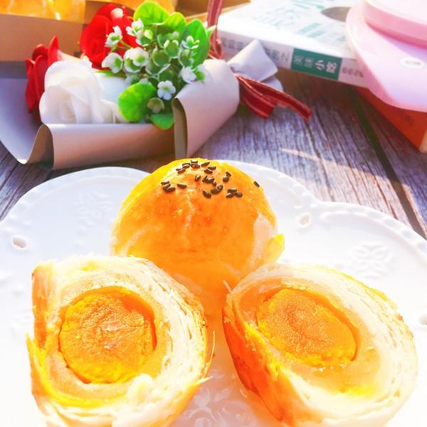 蛋黄酥成品图
