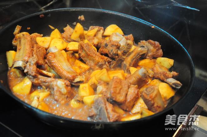酱香排骨烧慈姑--附慈姑的处理方法怎么煮