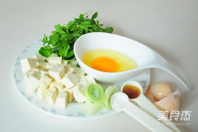 豆苗豆腐鸡蛋汤的做法大全