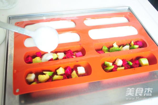 酸奶水果棒棒冰怎么吃