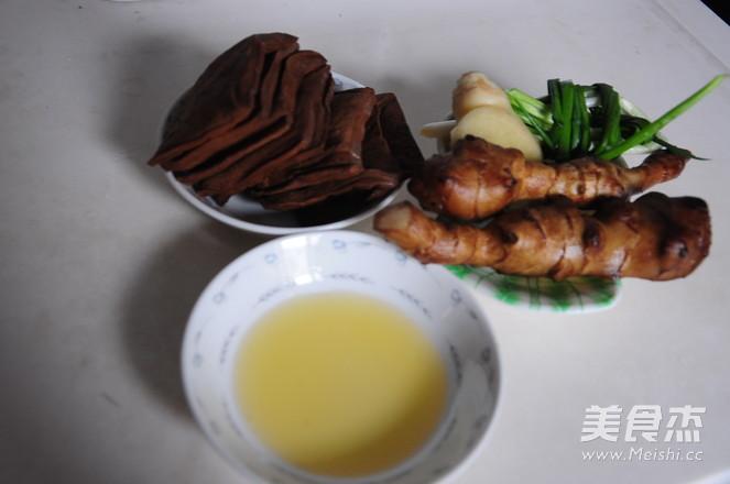 五香豆干拌鬼子姜的做法大全