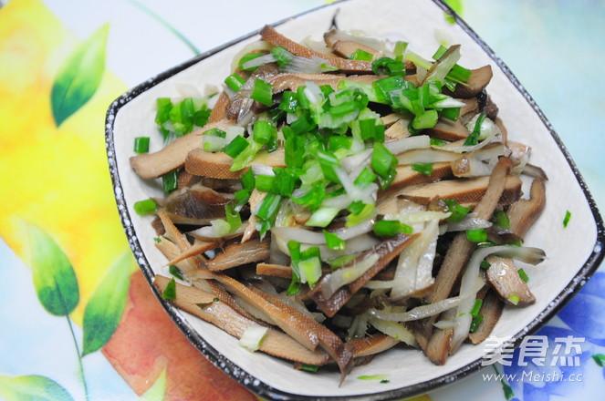 五香豆干拌鬼子姜的家常做法