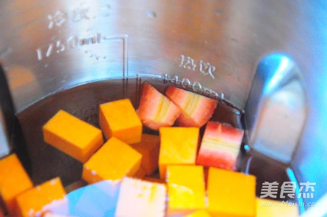 南瓜胡萝卜浓汤的简单做法