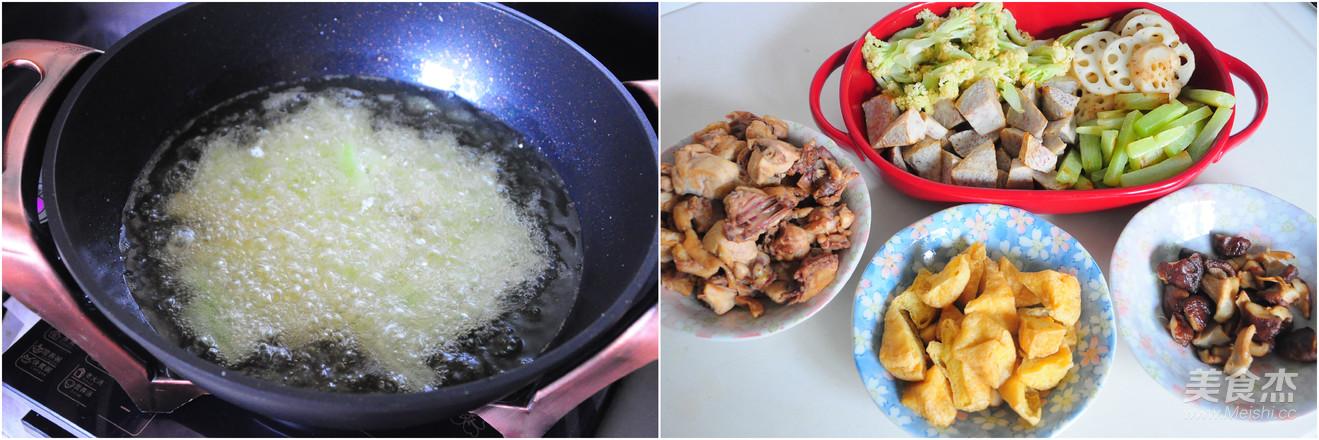 一锅熟之--干锅三黄鸡的简单做法