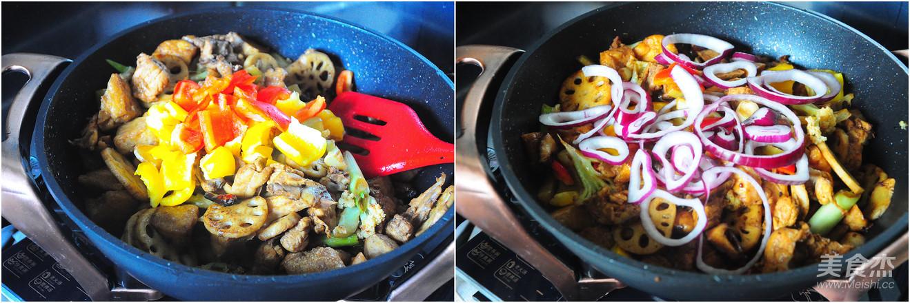 一锅熟之--干锅三黄鸡怎么炒