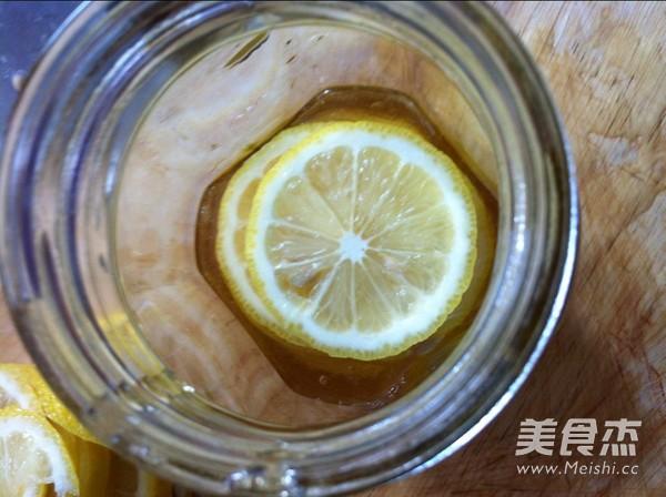 鲜柠檬蜂蜜的步骤
