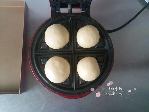 奶香豆沙华夫饼怎么炒