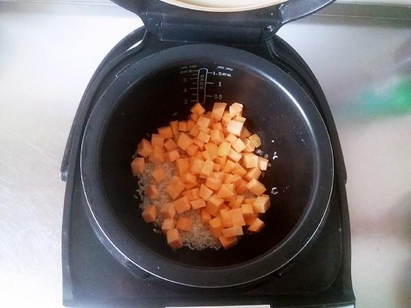 胚芽米红薯粥的家常做法