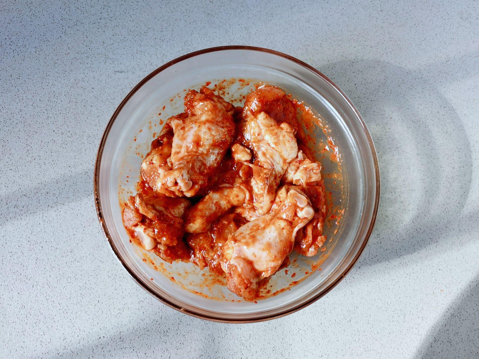 自制蜜汁烤鸡翅根,外酥里嫩好吃到转圈圈的家常做法