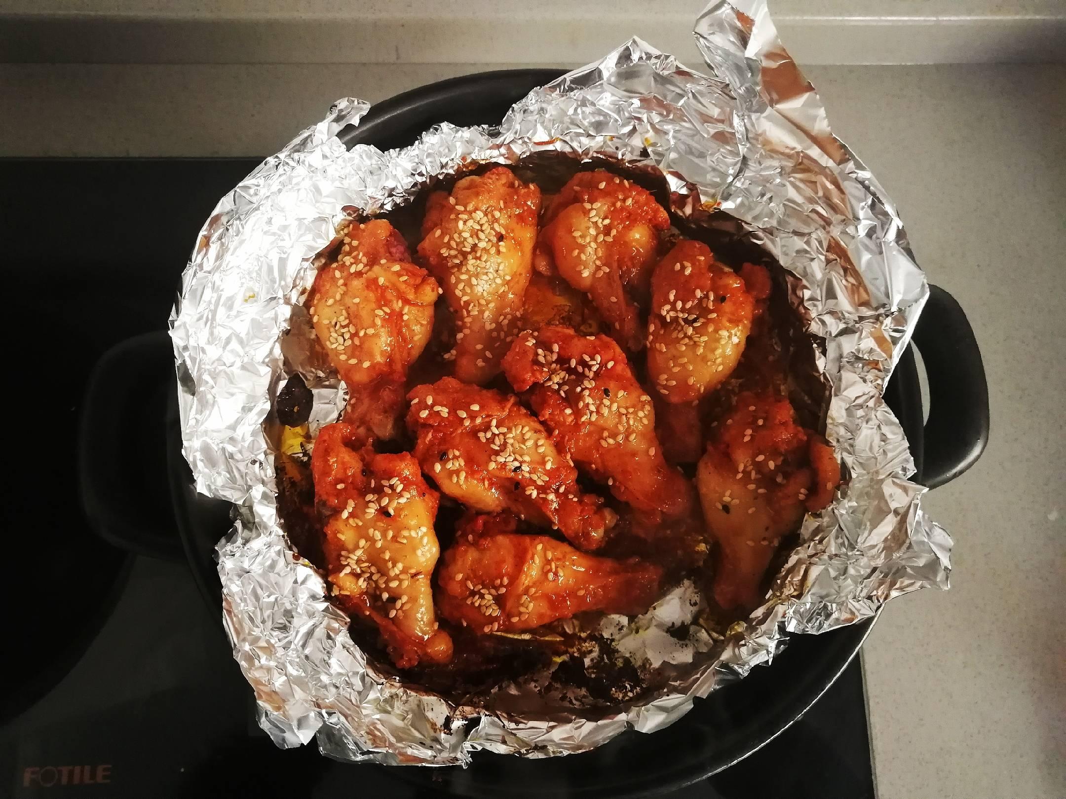 自制蜜汁烤鸡翅根,外酥里嫩好吃到转圈圈怎么炖