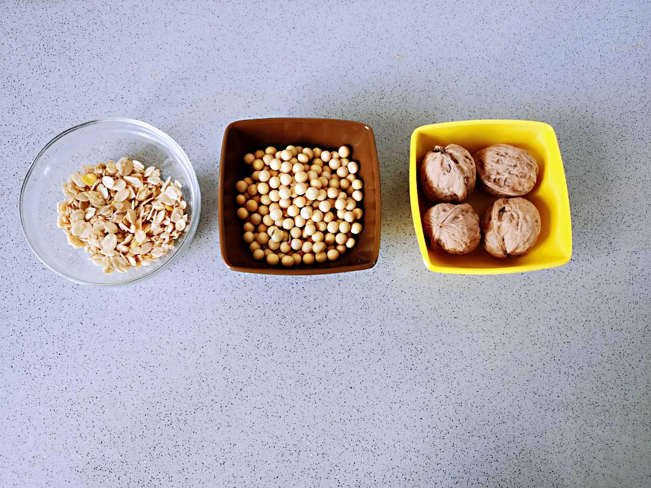 燕麦核桃米浆的做法大全