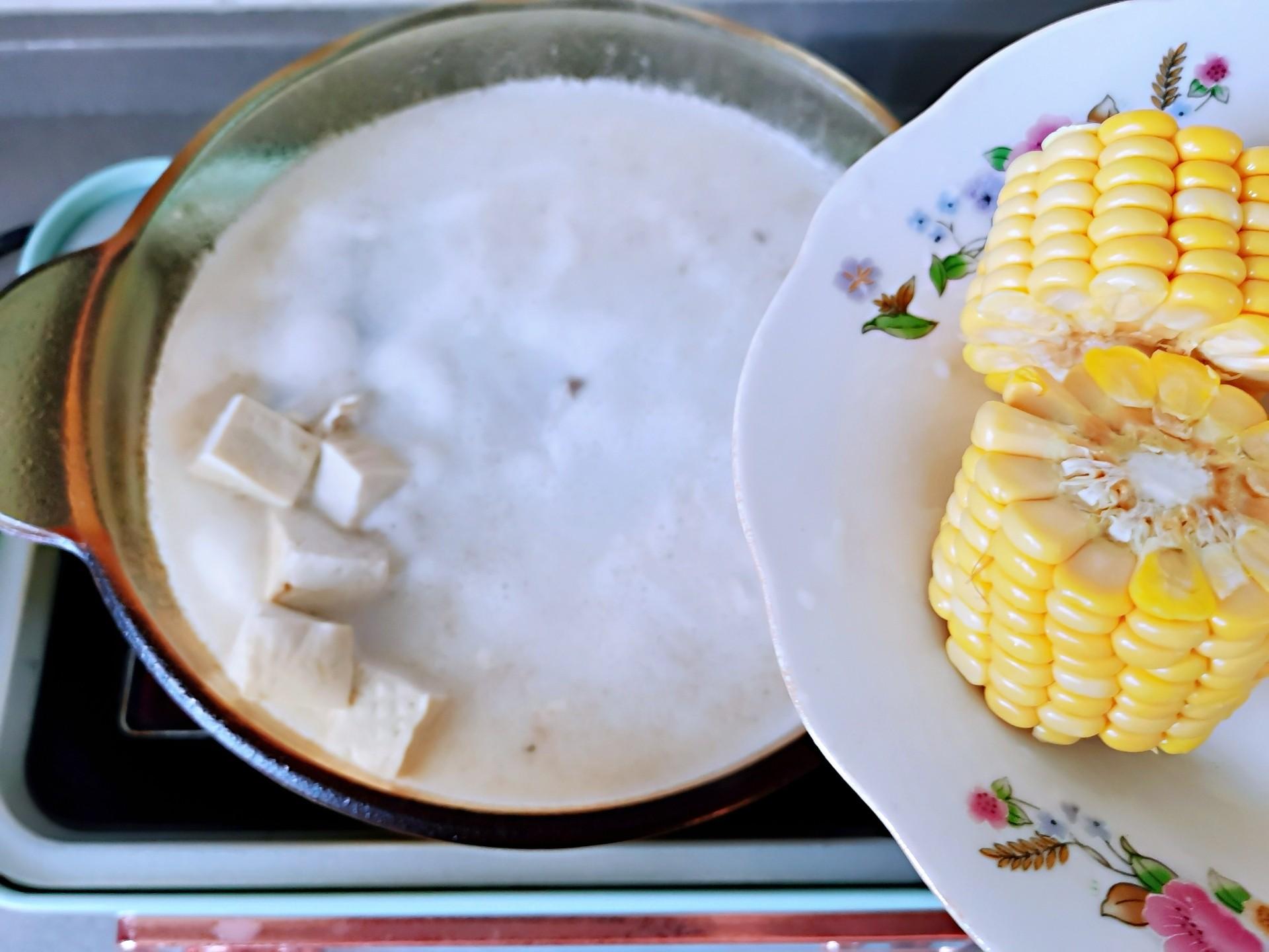 排骨玉米豆浆火锅怎么做