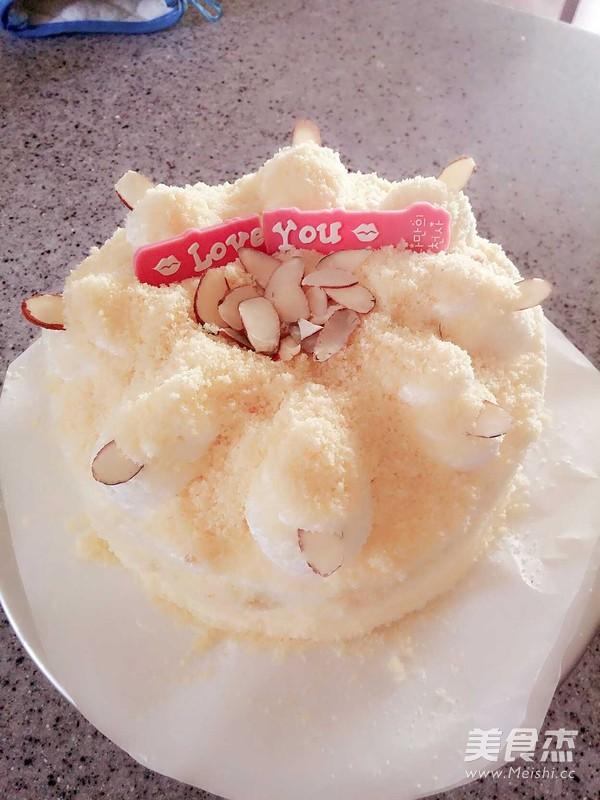 红薯(地瓜)蛋糕成品图