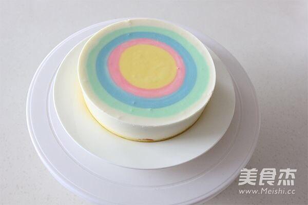 彩虹慕斯蛋糕的制作方法