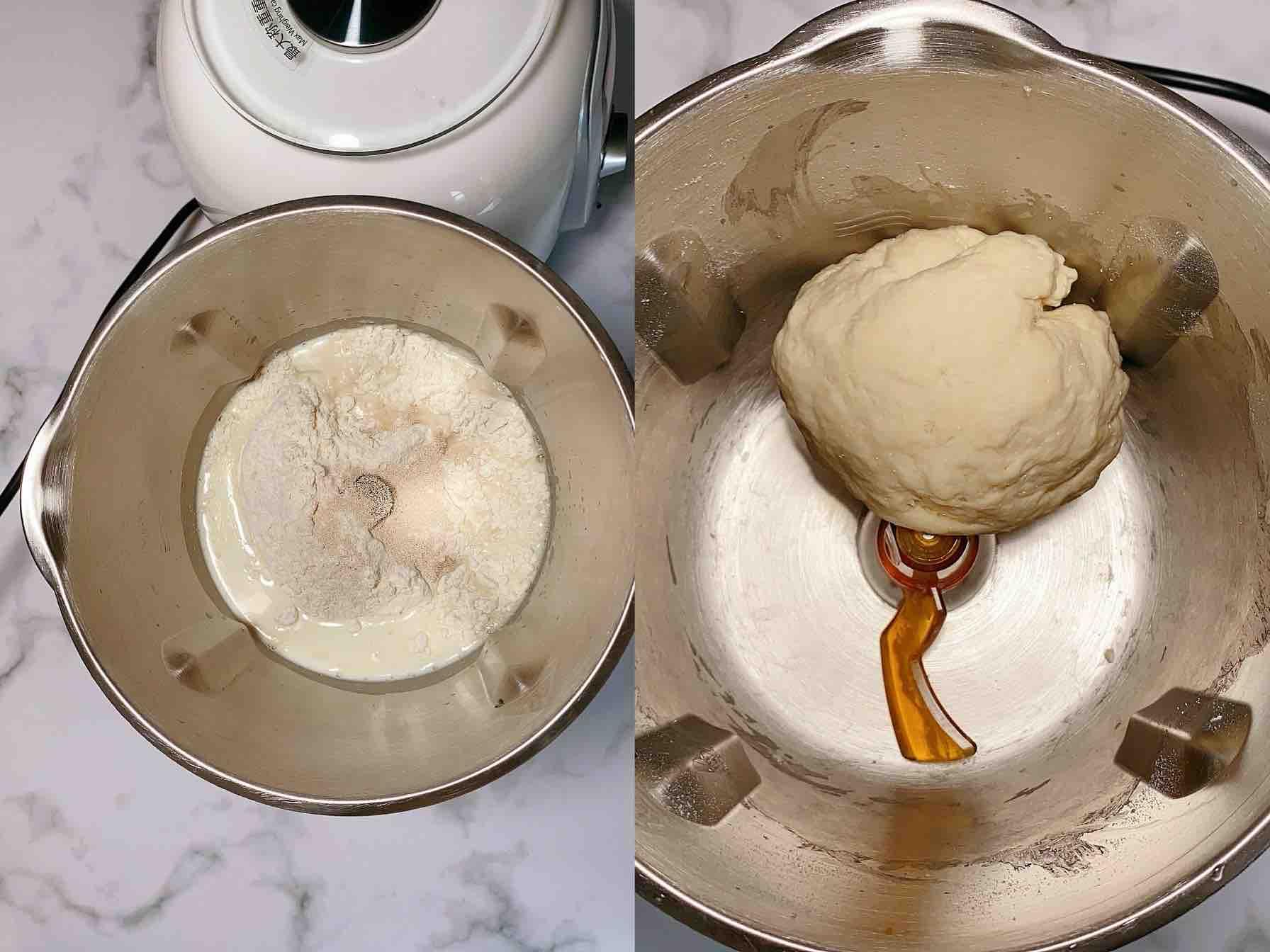 红豆卷、吃一次就爱上的早餐的做法大全