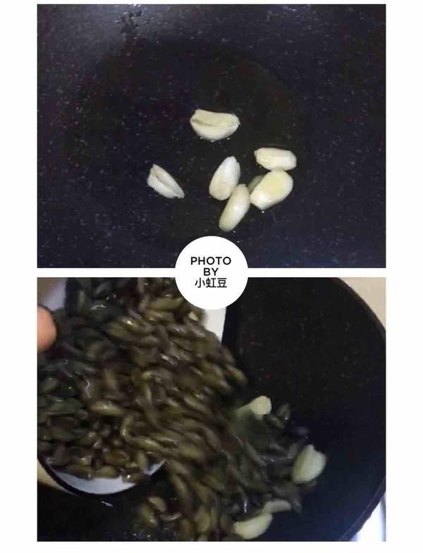 潮汕金不换炒薄壳的做法图解