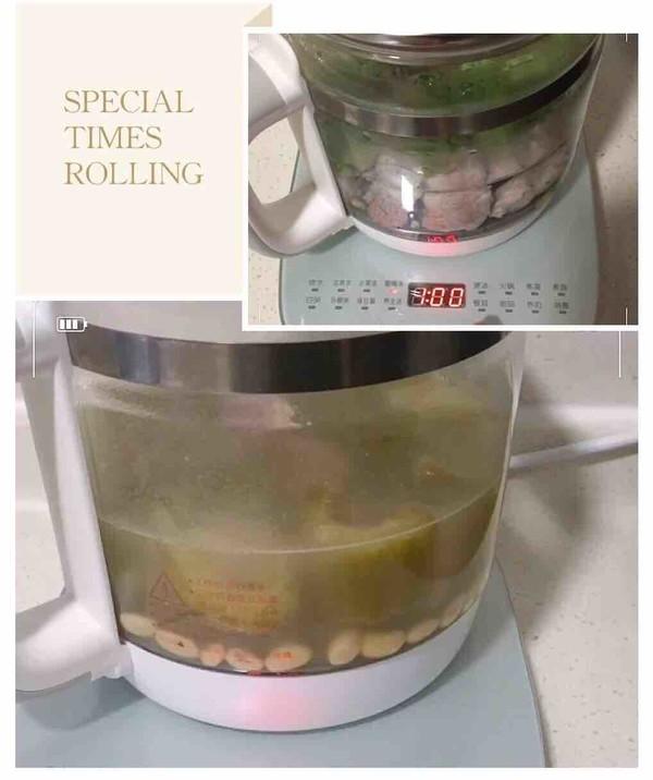 苦瓜黄豆排骨汤的步骤