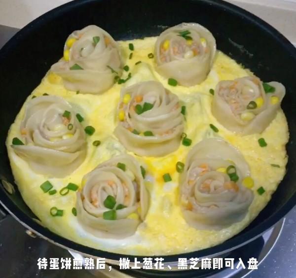 情人节玫瑰花饺子怎么煮
