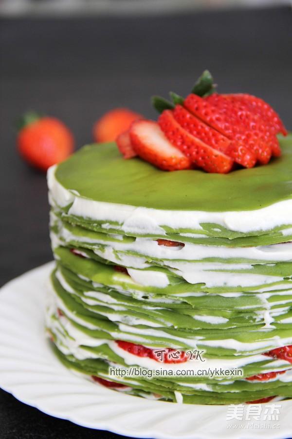 抹茶草莓千层蛋糕怎么煮