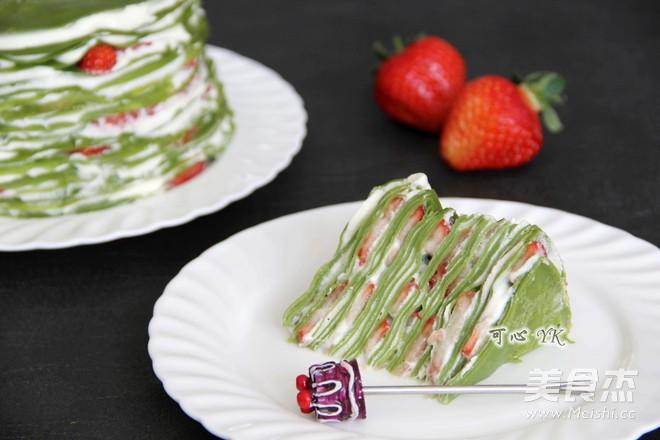 抹茶草莓千层蛋糕怎么炖