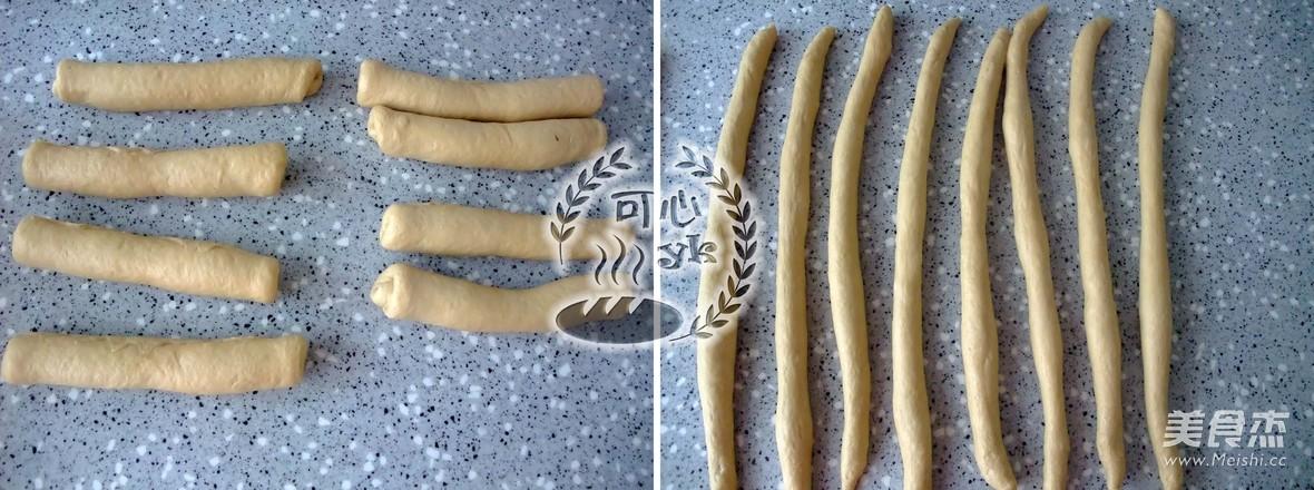 咖啡味浓郁的4股辫子面包(中种)怎么做