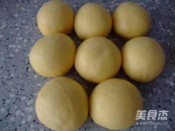 南瓜葡萄干花环包(中种)的家常做法