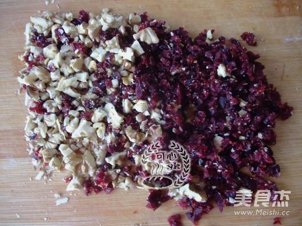 蔓越莓核桃红糖软欧包的做法大全