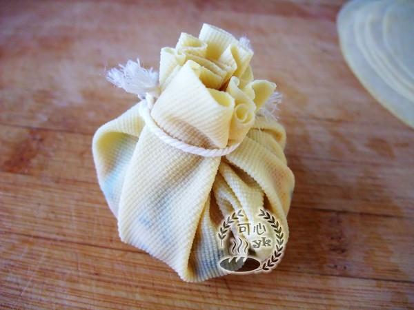八方来财黄金福袋--春节餐桌上不可少的一道菜怎样煸