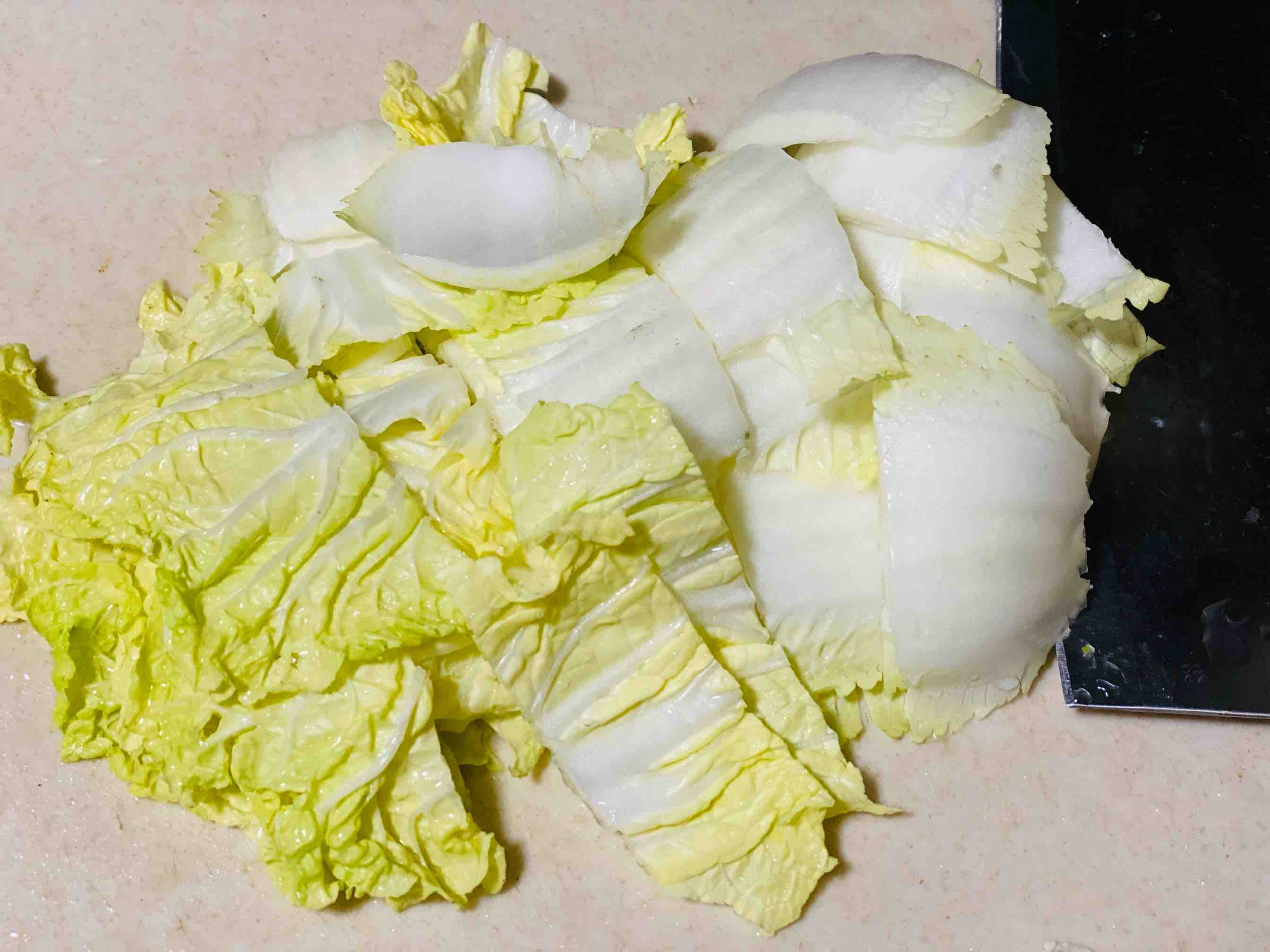酱香油豆腐炒白菜的家常做法