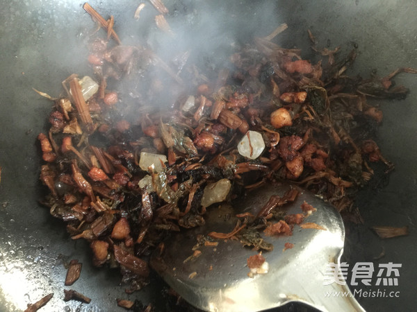 梅干菜烧饼的简单做法