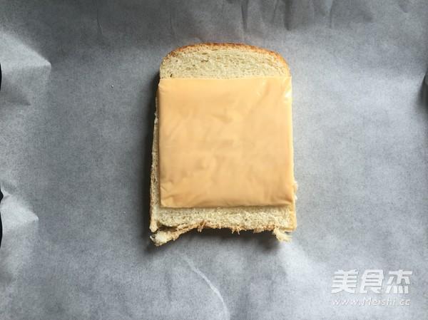 高颜值早餐—火烧云吐司的家常做法