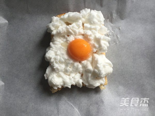 高颜值早餐—火烧云吐司的简单做法