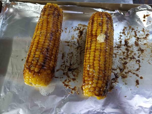 香烤玉米怎么做