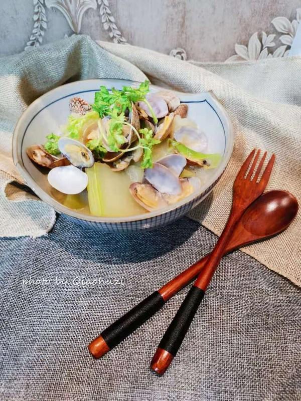 蛤蜊冬瓜汤成品图