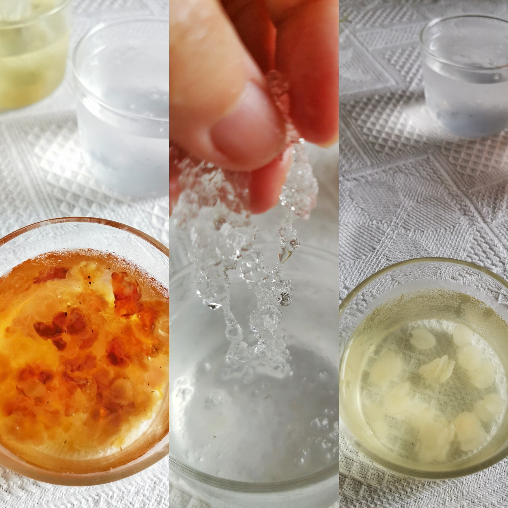 吃一碗相当于敷30张面膜的美味桃胶皂角米雪燕羹的步骤