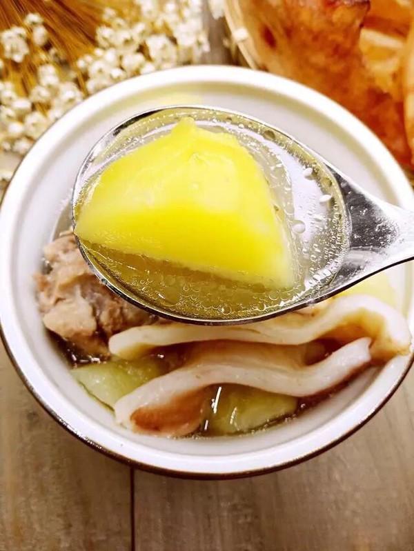 土豆排骨新西兰花胶汤的家常做法