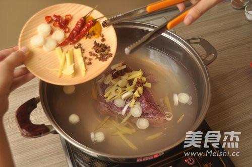 香辣咖喱牛肉干的步骤