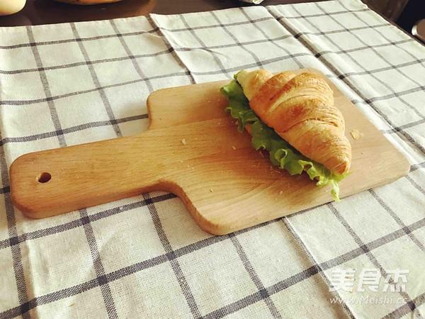 可颂三明治、香蕉牛奶奶昔的家常做法