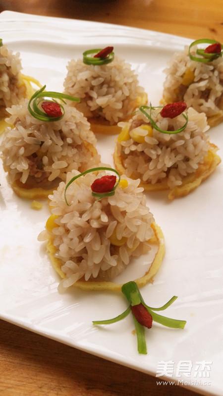 玉米珍珠肉圆的简单做法