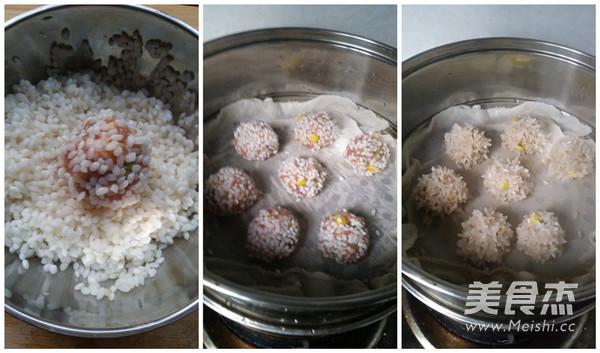 玉米珍珠肉圆的家常做法