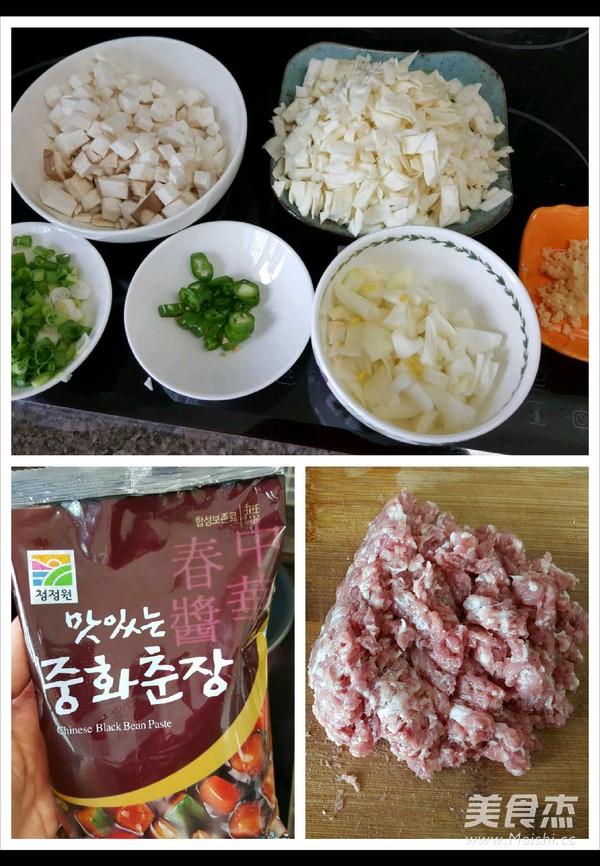 韩式炸酱面的做法图解