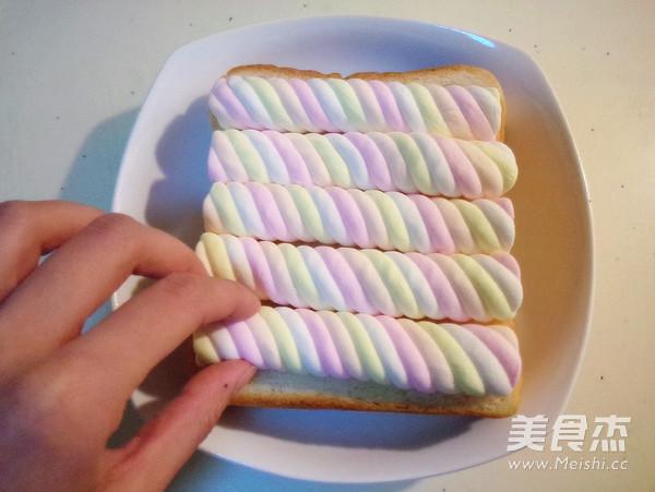 棉花糖吐司的做法图解