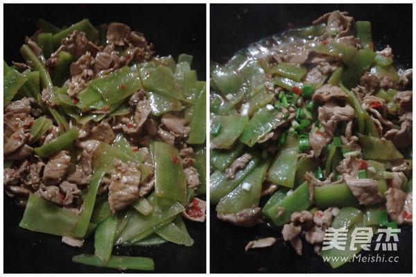 莴笋炒肉的家常做法