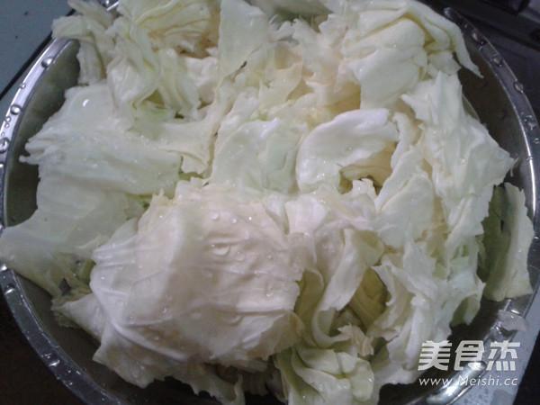 卷心菜炒肉片的做法大全